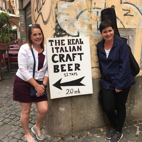 Craft beer in Italy!