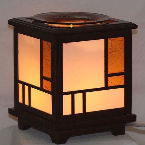 Elegant Wood Oil Warmer