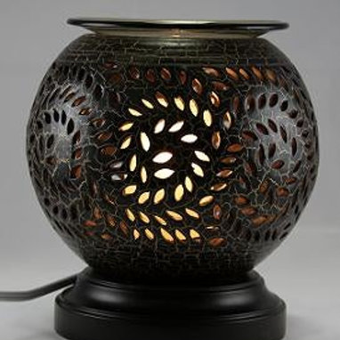 Pottery Wood Oil Warmer