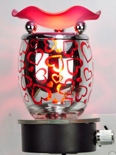 Lover's Lane -Wall Light (Red Hearts)