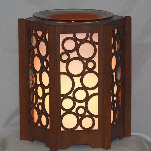 Bubble Beauty Wood Oil Warmer