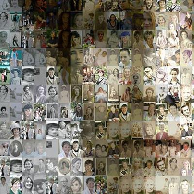 close collage