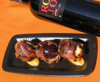 Grilled Figs with Prosciutto