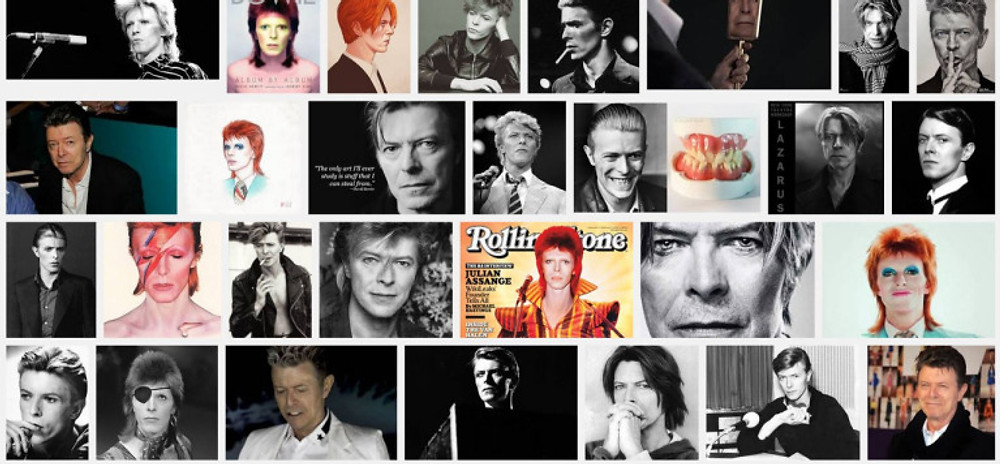 bowie's personae