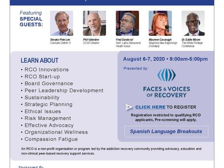 Virtual Recovery Conference in Colorado