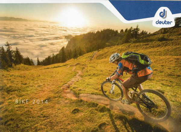 Cover Deuter Bike Catalogue 2014