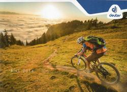 Cover Deuter Bike Catalogue 2014