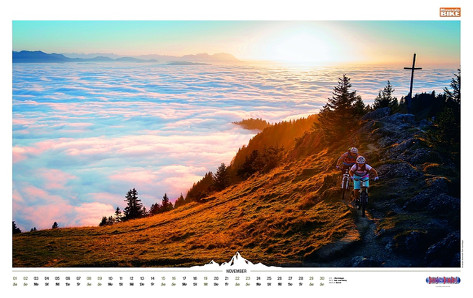 Germany, Mountainbike Calendar