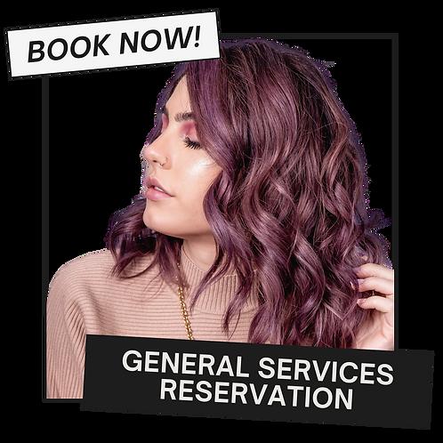 General Services Reservation
