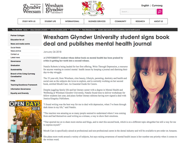 Interview with Glyndwr University