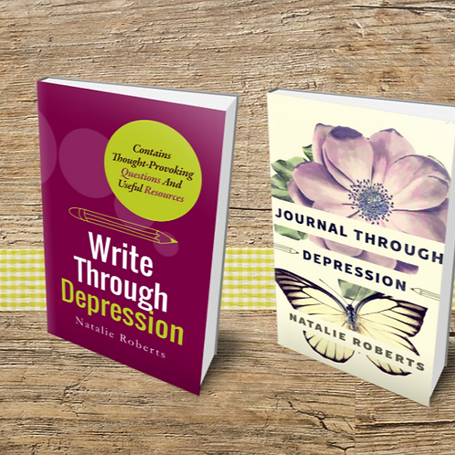 Write Through Depression & Journal Through Depression Set