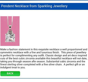 Daily Mail Jewellery Description