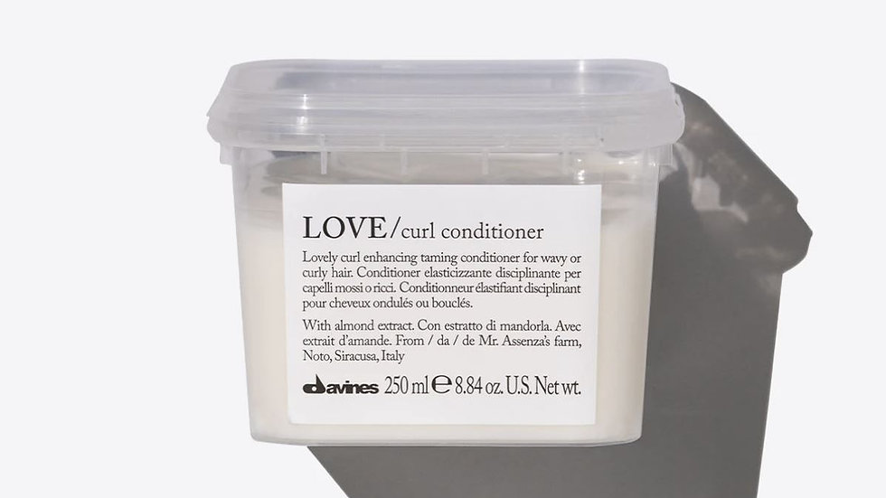 LOVE curl hair conditioner