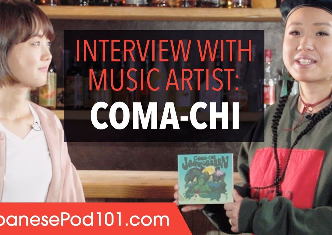 JapanesePod101 Interview with COMA-CHI