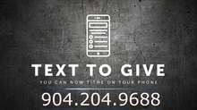 Sign-up for text alerts. Text ABAG to 797979 . Also Text to Give at 904-204-9688