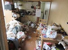 室内のゴミ