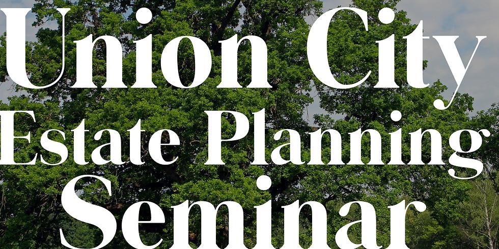 Union City Estate Planning Seminar