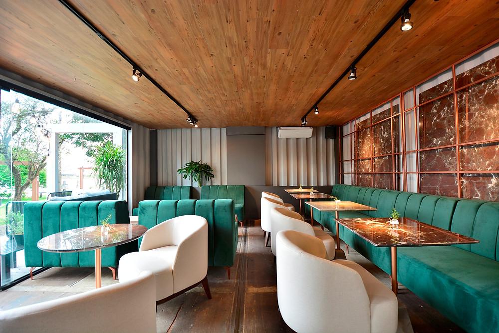 Archi2studio com o Café Veritas das arquitetas Daniela Coutinho e Paula Dillmann crédito Edu Liotti