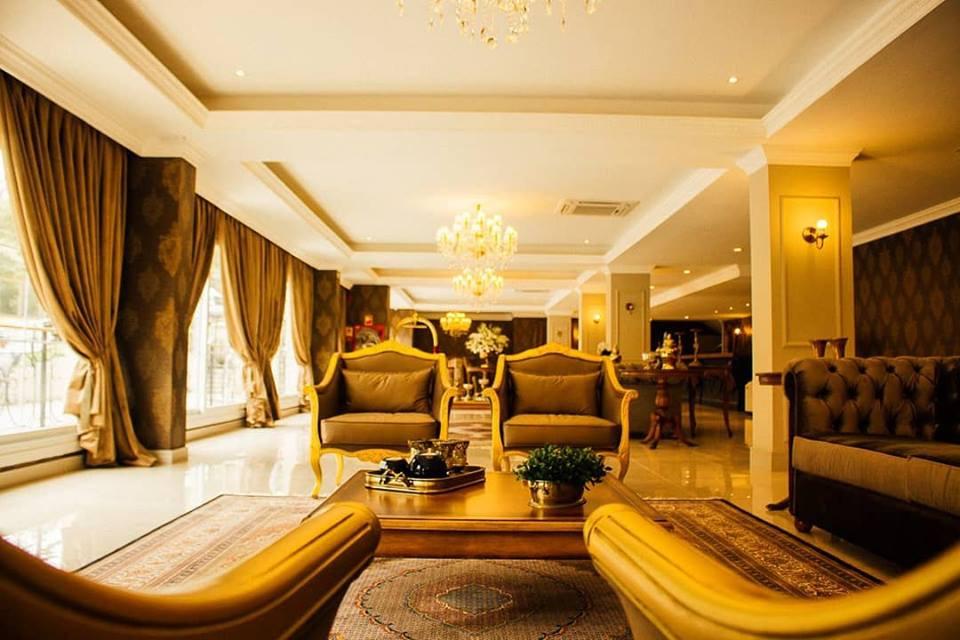 Lobby Hotel Daara/ Foto: divulgação