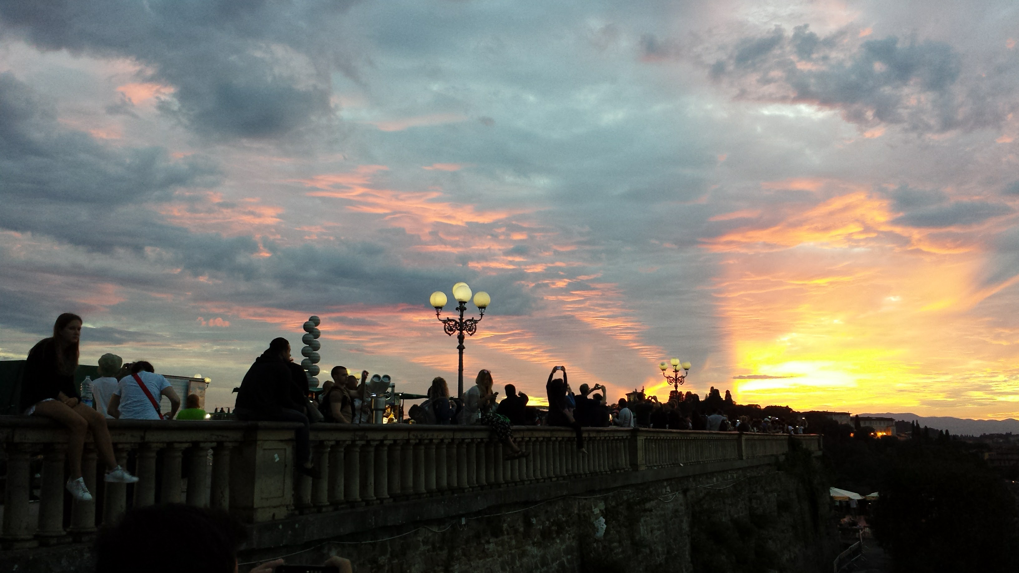 sunsetFlorence