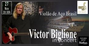 """Victor Biglione estará em Porto Alegre com o show """"Violão de Aço Brasil"""""""