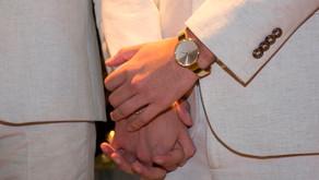 Casamento entre iguais exalta o amor acima de tudo