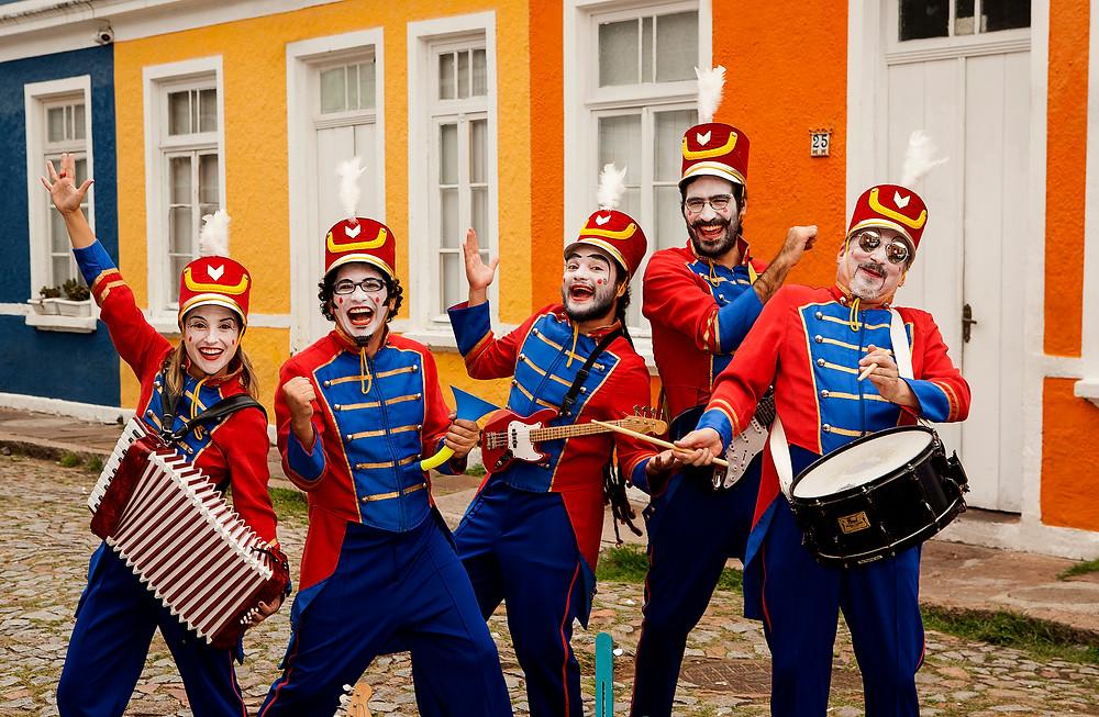 teatro infantil orquestra de brinquedos