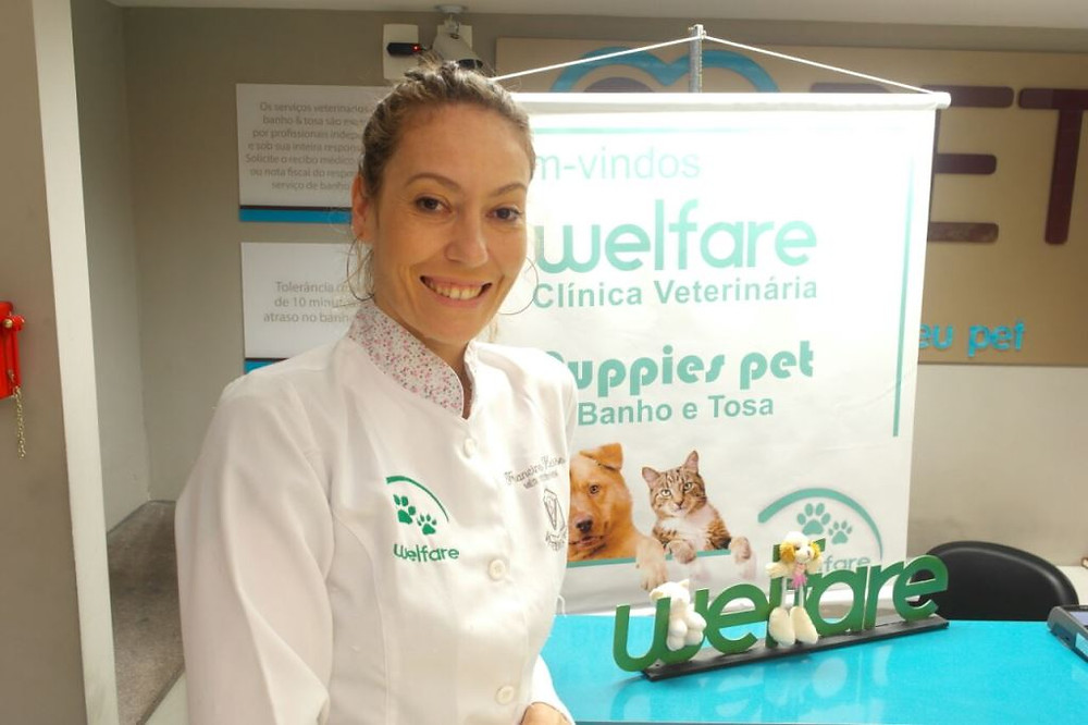 Veterinária Francine Hesse/Foto: Jonathan Hesse