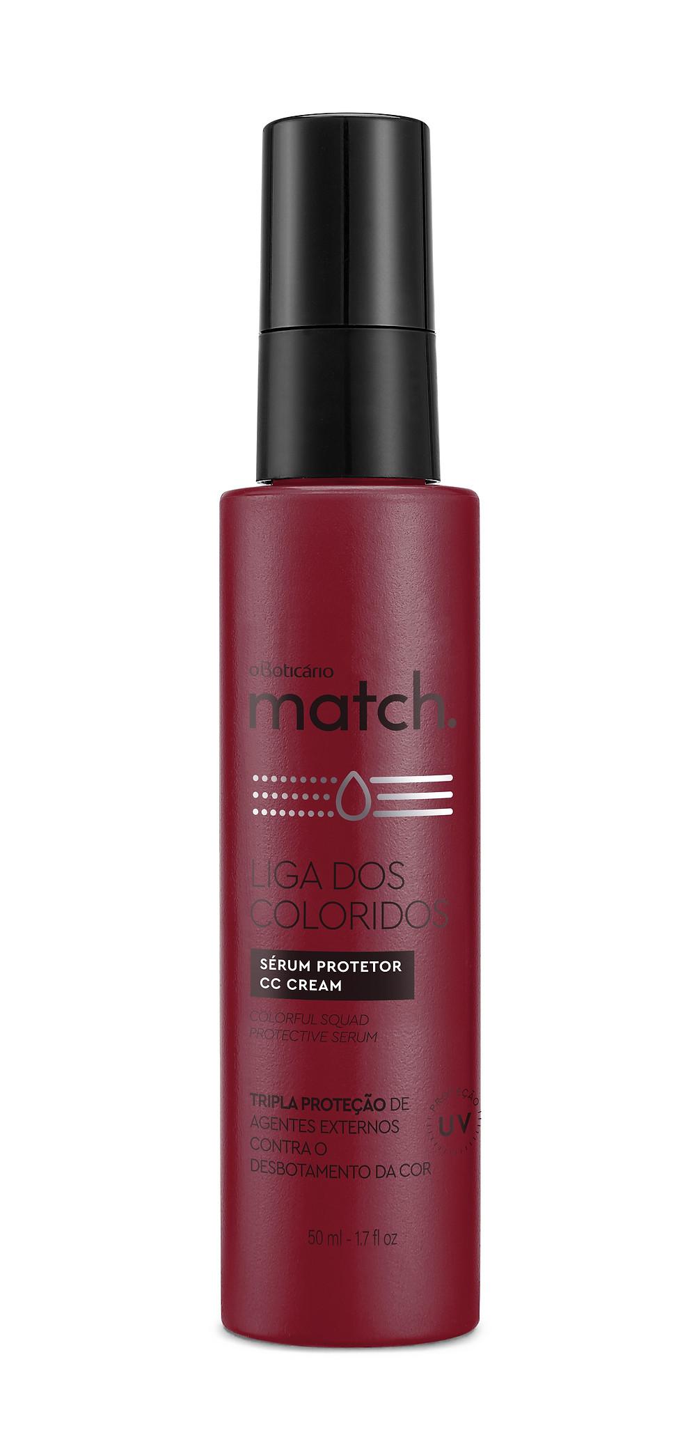 Match Liga dos Coloridos Sérum Protetor CC Cream, 50 ml Preço sugerido: R$ 59,90