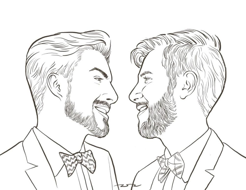 casamento gay - vagner e felipe