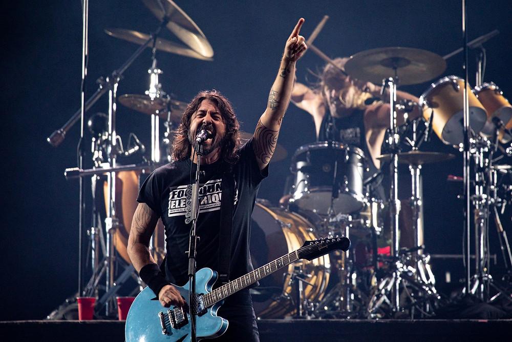 Foo Fighters (Foto: Marcelo Brandt – G1)