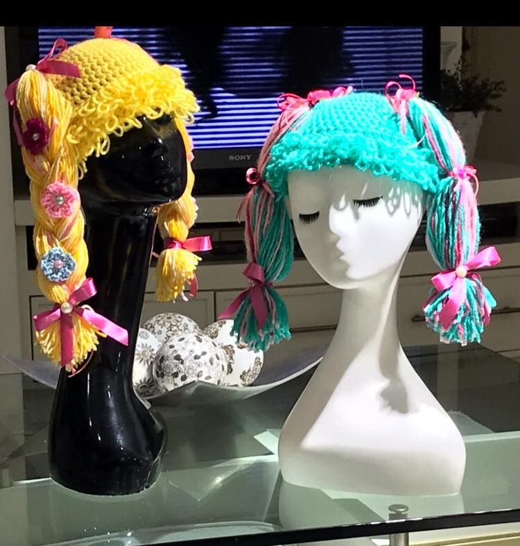 perucas chapeu do bem