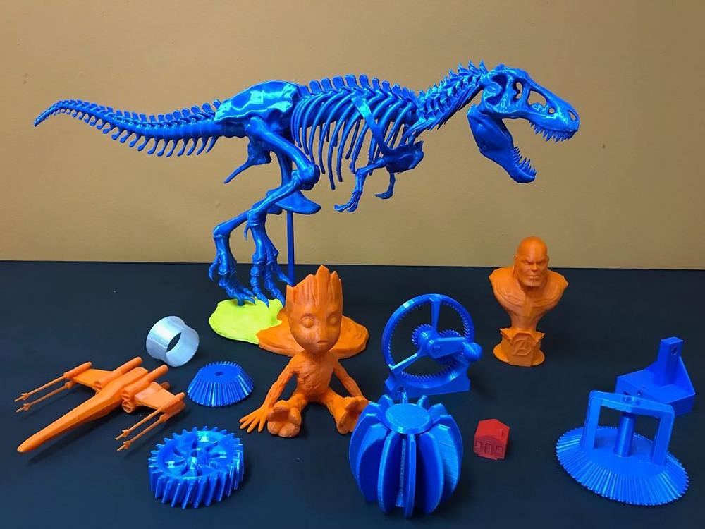 (Impressão 3D - Divulgação/Casa do Mecânico)