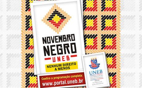 UNEB articula atividades do Novembro Negro