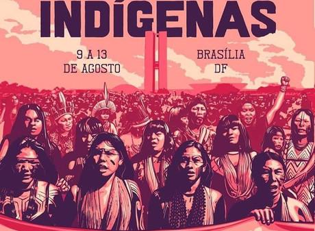 Primeira Marcha das Mulheres Indígenas, acontecerá de 09 a 13 de agosto em Brasilia - DF.