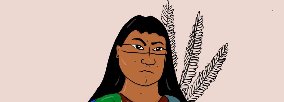 Mulher indígena e sapatão ©YACUNÃTUXÁ.pn