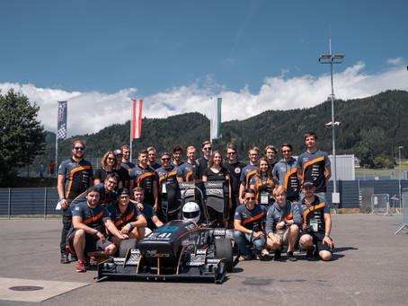 Eine ereignisreiche Rennsaison für das Team von TUW Racing geht zu Ende.