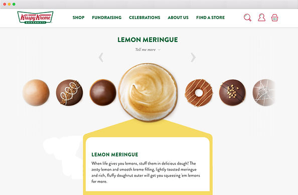 Krispy Kreme Copywriting
