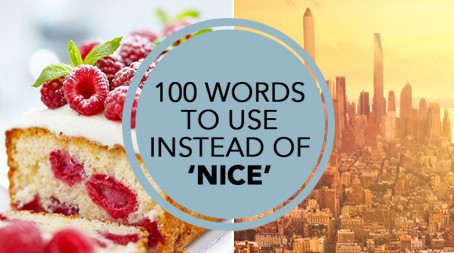 100 words to use instead of 'nice'