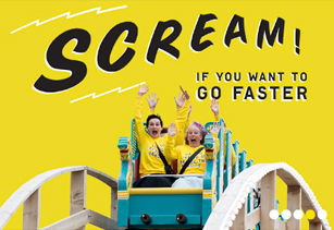 Dreamland Margate freelance creative copywriter for website and tone of voice. Fair ground. Amusement park. Family
