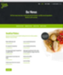 Yum Junkie, Catering website, Copywriter, food writer, freelance, oxfordshire, remote working
