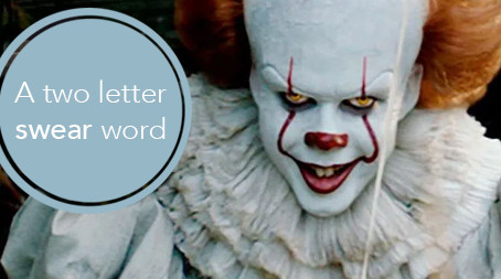A two letter swear word