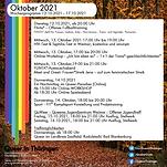 Wochenprogramm ab 12.10.2021