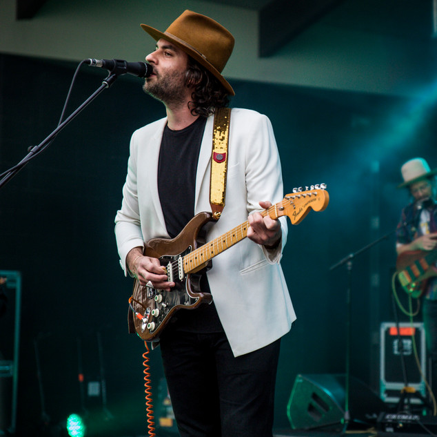 The Head and the Heart performs to a sold out show at Greenfield Lake Amphitheater on Wednesday April 17, 2019 in Wilmington, N.C. [NATHAN BURTON/STARNEWS]