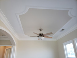 Detailed Painted Ceiling