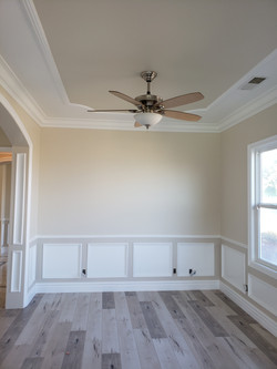 Detailed Wainscoting