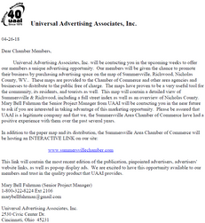 Universal Advertising Associates, Inc.