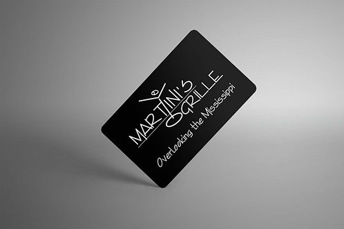 Martini's Gift Card