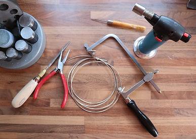 Jeweller's tools workshop