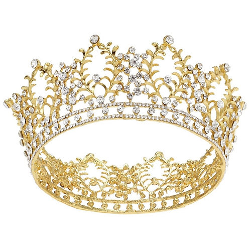 Vintage Crystal Tiara - More Options